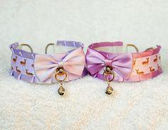 Doe Eyes  collar for pet play age play bdsm lolita ddlg