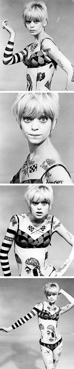 Goldie Hawn in Rowan & Martin's Laugh-In (Seasons 1-3: 1968-70, NBC)