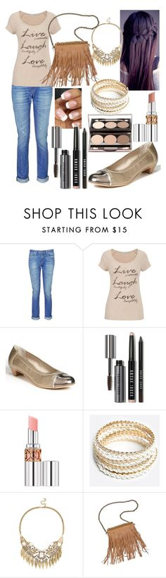 """""""Untitled #107"""" by hanafares ❤ liked on Polyvore featuring rag & bone, maurices, Attilio Giusti Leombruni, Bobbi Brown Cosmetics, Nude by Nature, Yves Saint Laurent, ZooShoo, Sole Society and Patchington"""