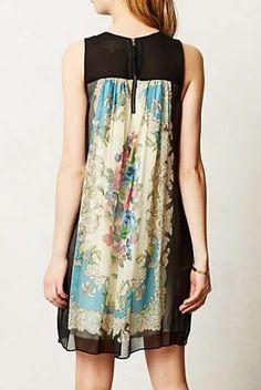 Anthropologie - Flora Vignette Dress