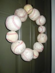 i know someone who makes bracelets out of the seams of baseballs as well