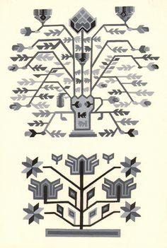 Ornamentul naţional - Galeria foto Folk Embroidery, Embroidery Ideas, Arrow Tattoos, Fair Isle Knitting, Weaving Techniques, Painting Patterns, World Cultures, Printmaking, Folk Art