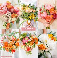 Para inspiraras Noivinhas que vão se casar na estação maiscolorida ealegre do ano, fizemos um post com belíssimassugestões debouquets!