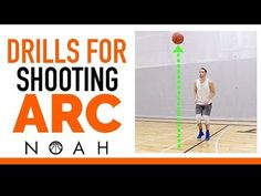 3 Shooting Drills To Improve Shooting Arc: Noah Basketball Shooting Tips funny tips and tricks tips dribbling tips girls tips shooting wallpaper Basketball Shooting Tips, Basketball Workouts, Basketball Skills, Basketball Games, Girls Basketball, Basketball Court, Basketball Practice, Basketball Stuff, Basketball Funny