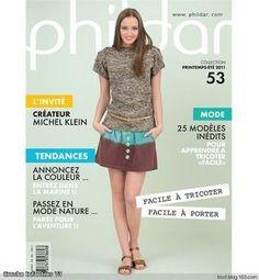 Phildar №53 Printemps - Ete 2011 - Beaux modèles bicolores et rayés et vestes