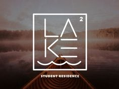 Logo design / The Lake – Concept Logo for a Student Residence in Northern Ontario.