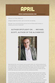 April Michael Scott, Author, Writers