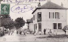 Les Laumes. La poste route de Pouilenay.