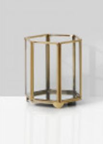 This gold geometric light holder can be seamlessly incorporated into a variety of styles from weddings to dinner parties. Wholesale Candle Holders, Gold Lanterns, Gold Vases, Bulk Candles, Glass Tea Light Holders, Votive Holder, Candle Stand, Tea Lights