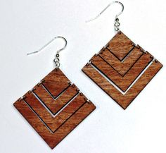 Natural materials are more popular than ever this season. We've already shared a bunch of awesome wooden jewelry to buy or DIY with y'all, but we thought we'd focus specifically on earrings today. These eye-catching pieces are sure to dazzle anyone that comes your way. Diamonds better watch their backs; they may be a gal's best friend right now, but after seeing these 35 dazzling pairs of handmade earrings, wood might just creep in between you two.