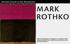 Mark Rothko in-depth studyhttp://www.nga.gov/feature/rothko/