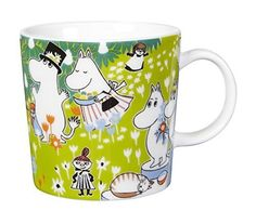 Arabia Finland Moomin Mug  Toves Jubilee by Arabia Finland -- Details can be found by clicking on the image. (This is an affiliate link) #CampingDishesandUtensils