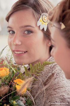 Modèle: Maëliss /Headband: La Meute de Loups /Fleurs: Gali M /Maquillage: Anaïs Périe Mua /Coiffure: Madam'Sans Gêne