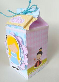 Caixa Milk Alice Scrap