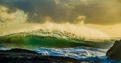 Sunrise Snapper Rocks Qld Australia by cscapephotos