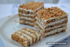 Reformirani kolač - Recepti na brzinu Croation Recipes, Macedonian Food, Serbian Recipes, Serbian Food, Kolaci I Torte, Torte Cake, Desert Recipes, Let Them Eat Cake, Tray Bakes