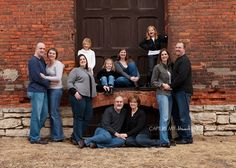 large group family photos (Mom, Dad, Sister & Family, Brother & family & my family)-we need to do this ASAP