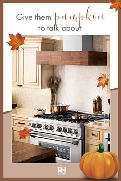 This fall, design you dream kitchen with appliances from The Range Hood Store. Between our copper finishes and wooden paneling, we are sure to have just what your kitchen needs. Wooden Vent Hood, Kitchen Trends, Kitchen Ideas, Kitchen Ventilation, Quality Kitchens, Home Trends, Inspired Homes, Beautiful Kitchens, Country Farmhouse