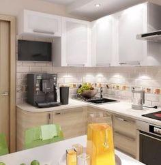 Kitchen Interior, Interior And Exterior, Kitchen Decor, Kitchen Design, Interior Design, Kitchen Backsplash, Kitchen Cabinets, Flat Ideas, Cuisines Design