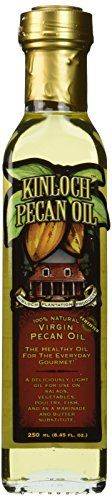 Kinloch Plantation Products Pecan Oil,Two (2) 250 ML Bottles * Trust me, this is great! : Baking supplies