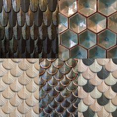 Tiles. Luxurious and lyric ceramic mosaic from Nove - Bassano, Northern Italy. http://www.botteganove.it Photo | Marta Bastianello 2016