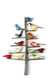 Grainne Morton bird tree brooch | Sumally