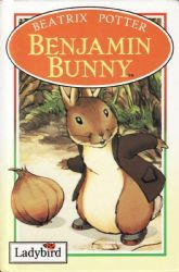 BENJAMIN BUNNY Ladybird Book Peter Rabbit and Friends Gloss Hardback 1993