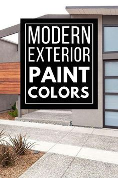 Must see modern exterior paint color combinations that work so well together! Paint your home's exterior with confidence after being inspired by these great modern color schemes. Exterior Paint Color Combinations, Modern Color Schemes, Paint Color Schemes, Modern Colors, Best Exterior Paint, House Paint Exterior, Exterior Paint Colors, Modern Exterior, Colorful Interior Design