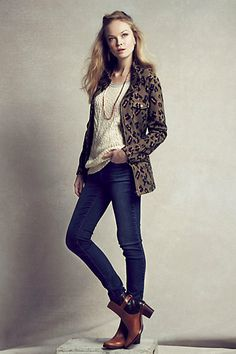 The first leopard print jacket I've ever wanted to own! Leopardeau Jacket #anthropologie