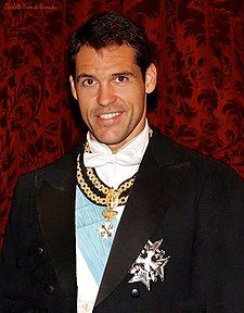 Louis Alphonse, Duke of Anjou member of the Royal House of Bourbon. Claimant to the French crown, second cousins to King Juan Carlos of Spain, great grandson el caudillo Francisco Franco heir to the Dukedom of Franco. French Royalty, Spanish Royalty, Margarita, Bourbon, Cadiz, Hugh Capet, Malta, French Prince, Royals