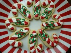 Christmas Cookies {Reindeer, Trees, Penguins, Candy Canes, Holly Leaves}