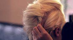 Video tutorial for Julianne Hough Golden Globes inspired hair do- Classy mohawk updo!