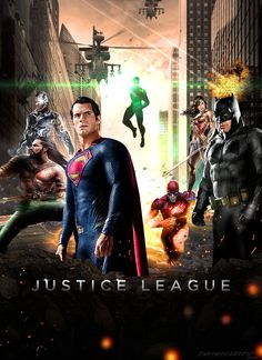 Justice League 2017 Movie Poster by Timetravel6000v2.deviantart.com on @DeviantArt