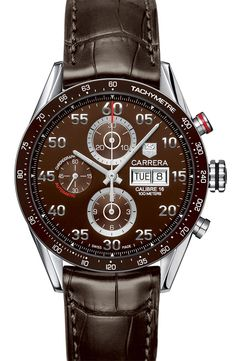 TAG Heuer 'Carrera' Automatic Tachymeter Watch | Nordstrom
