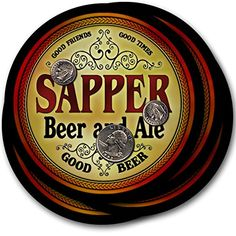 Sapper Beer & Ale - 4 pack Drink Coasters ZuWEE https://www.amazon.com/dp/B00PQMZTWG/ref=cm_sw_r_pi_dp_x_7TQ9xb5WS955W
