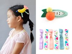 Little girls don't need much help in the looking adorable department. But our favorite bows, pins, and hair baubles take her tresses up a notch.