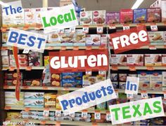 The Best Local Gluten Free Products in Texas