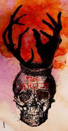 True Detective (2014–) ~ Alternative TV Series Poster by Daniel Norris #amusementphile
