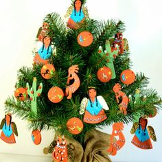 Image result for Southwestern Christmas Tree