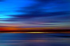 Hypnotic sunset.