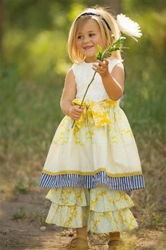 Love this! It will make such a cute Easter dress too :) Persnickety Clothing Sail Away Picnic Dress in Multi Spring 2014