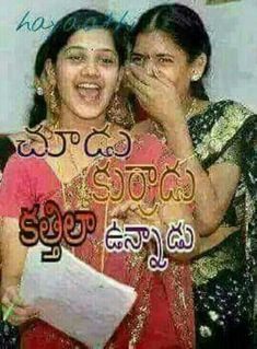 Comedy Quotes, Funny Quotes, Funny Pictures For Facebook, Comedy Clips, Funny Comments, Morning Greeting, Telugu, Stress, Indian