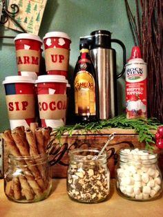 PJ Night Food: Hot chocolate + pajamas sound so cozy and yummy! #pjnight