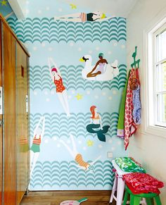 Swimming Pool   Papel pintado romántico   Patrones de papel pintado   Papeles de los 70