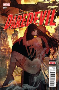 Matthew MURDOCK (DAREDEVIL) and Elektra NATCHIOS (ELEKTRA) | PORTFOLIO: Marvel LOVERS