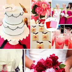 With little knowledge about wedding color palettes, choosing the right color combination for your wedding can be a challenge. Then draw some inspiration here.