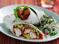 #food #chicken #warp #rice #healthy