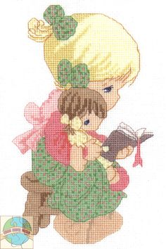 Precious Moments Jesus Clip Art | Precious Moments - Tell Me the Story of Jesus - Cross Stitch World