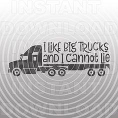 Boy Semi Truck svg,Funny Toddler Boy T-shirt svg,Boy Cut File,Boy Cricut svg -Vector Art for Commercial/Personal Use-Cricut,Cameo,Silhouette