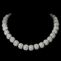 Necklace 1001 Silver Clear